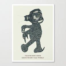 Film Mummy Canvas Print