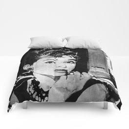 Miss Golightly - black Comforters