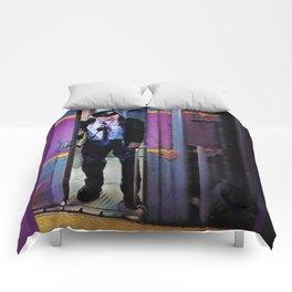 Leaving Back Bay Comforters