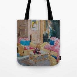 Golden Girls living room Tote Bag