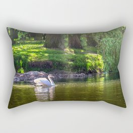 In the old park Rectangular Pillow