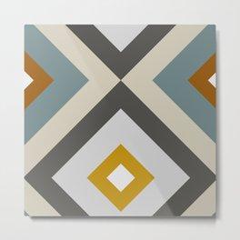 Mid West Geometric 04 Metal Print