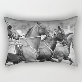 lines and angles Rectangular Pillow