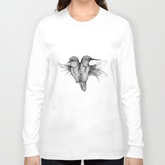 Conjoined Hummingbirds Long Sleeve T-shirt