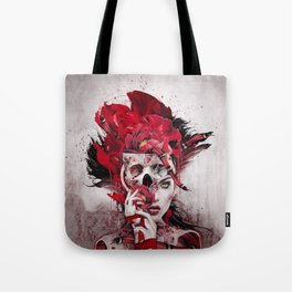 Poisonous Flowers Tote Bag