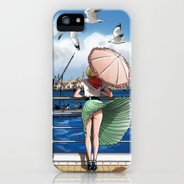 Penny Rogers - Hot wind iPhone Case