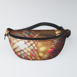 Abstract Alice Fanny Pack
