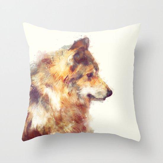 Wolf // True Throw Pillow