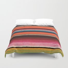BEAUTIFUL MEXICAN SERAPE Duvet Cover
