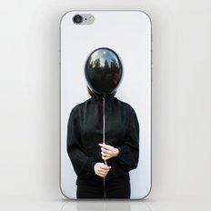 Behind the balloon iPhone & iPod Skin