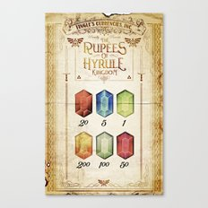Legend of Zelda - Tingle's The Rupees of Hyrule Kingdom Canvas Print