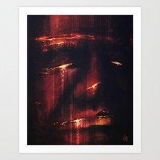 Red I Art Print