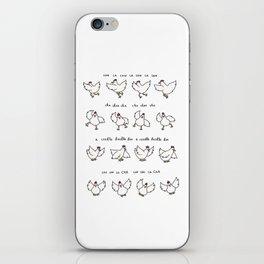 Chicken Dance iPhone Skin