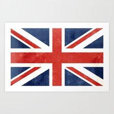 Union Jack Art Print