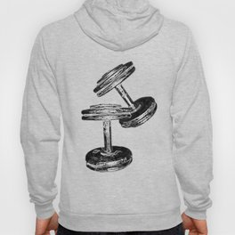 Chrome Dumbbells  Hoody