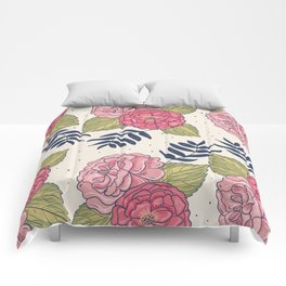 Floral 13 Comforters
