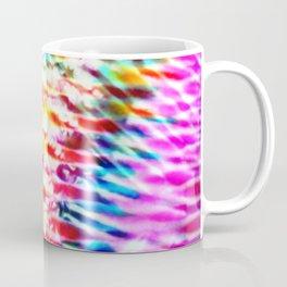 Crumpled Rainbow V Tie Dye Coffee Mug