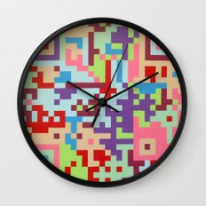 Number Two Multicolour  Wall Clock