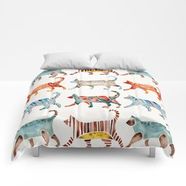 Cat Collection: Watercolor Comforters