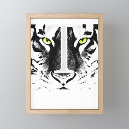 The Tiger Inside Framed Mini Art Print