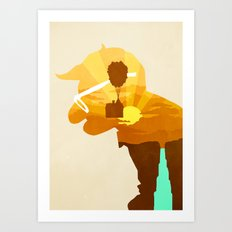 Carl's Dream Art Print
