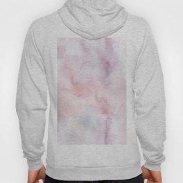 Elegant blush pink lilac hand painted watercolor pattern Hoody
