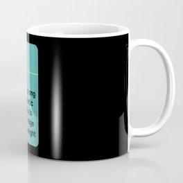 Long Romantic Walks Coffee Mug
