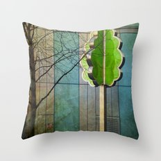 The Modernist Tree Throw Pillow
