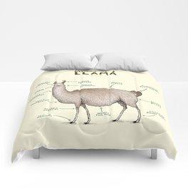 Anatomy of a Llama Comforters