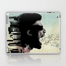 cry city Laptop & iPad Skin