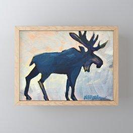 Appreciation - Moose Framed Mini Art Print