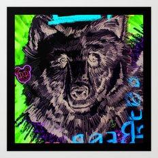 BEAR-asidad Art Print