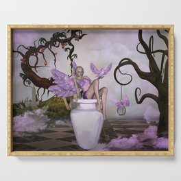 Beautiful fairy Serving Tray