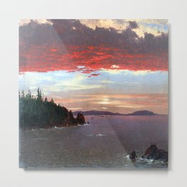 Frederic Edwin Church Schoodic Peninsula Metal Print