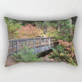 Fall Bridge Rectangular Pillow