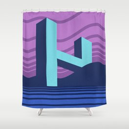 H Shower Curtain