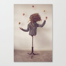 The Juggler Canvas Print