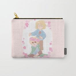 Flower Crown Carry-All Pouch
