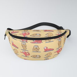 Sloth Yoga Fanny Pack