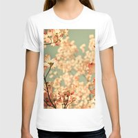 vintage T-shirts featuring Pink by Olivia Joy St.Claire - Modern Nature / T