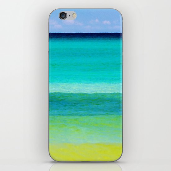 the colors of the sea iPhone & iPod Skin