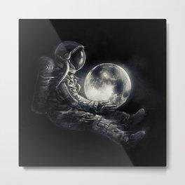 Moon Play Metal Print