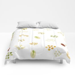 Nuts and grains Comforters
