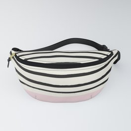 Bubblegum x Stripes Fanny Pack