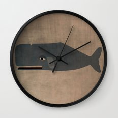 le cachalot Wall Clock