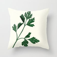 parsely Throw Pillow