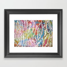 Stripes of Colour Framed Art Print