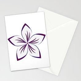 Americana Plumeria Stationery Cards