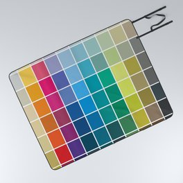 Colorful Soul - All colors together Picnic Blanket