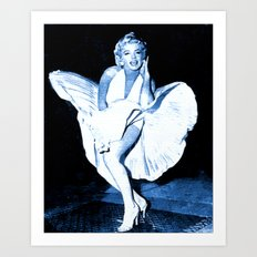 Marilyn Monroe Dress Art Print
